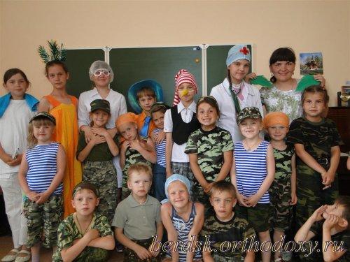 Православный летний детский военно-патриотический лагерь «Преображение»