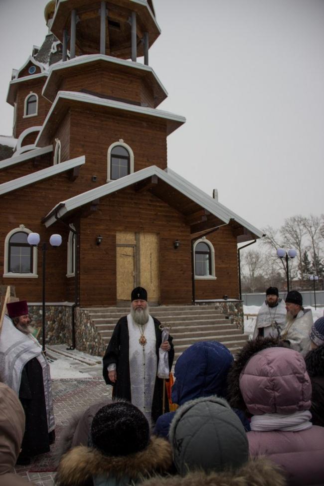 Освящение колоколов Богоявленского храма 14 ноября 2016 г. (фото)