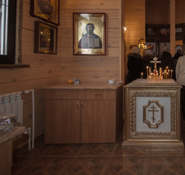Рождественский молебен в Богоявленском храме