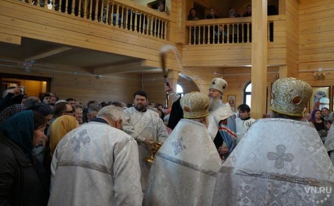 Божий промысел помог открытию третьего храма в Бердске