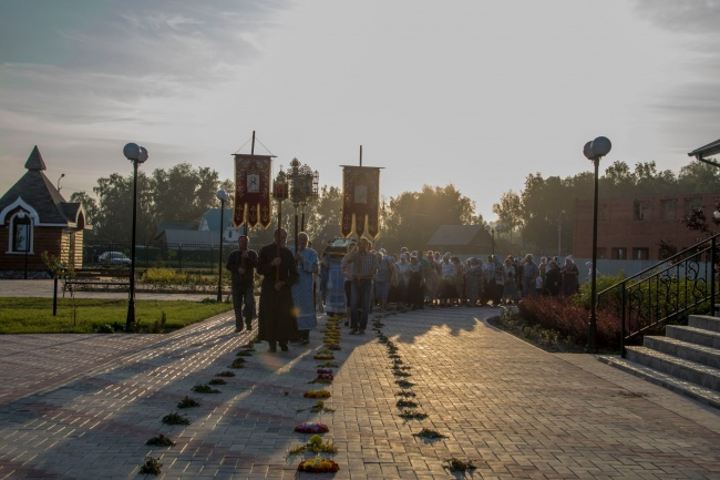 Успение Пресвятой Богородицы в Богоявленском храме