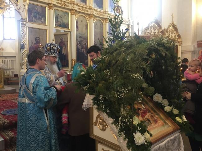 Праздник Рождества Христова в Преображенском кафедральном соборе г. Бердска